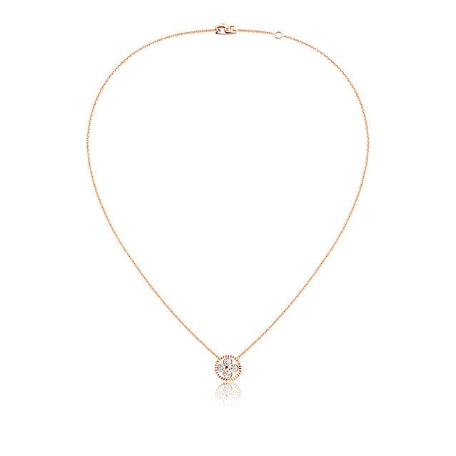 Louis Vuitton - the round monogram flower necklace 2015 Monogram Sun Collection