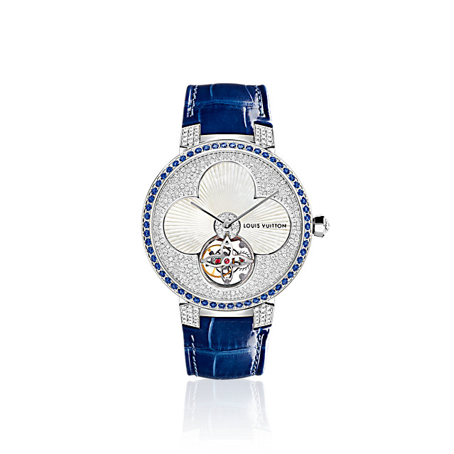Louis Vuitton watches- TAMBOUR MONOGRAM TOURBILLON SUN 38MM watch