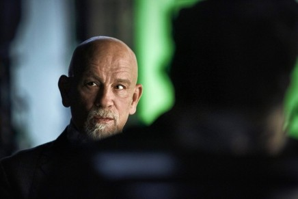 John Malkovich is the star of the movie you will never see. The film will not be released until 2115.