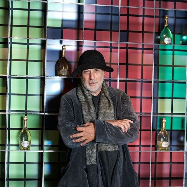 Love affair with Ruinart Blanc de Blancs and the new Ron Arad vasque