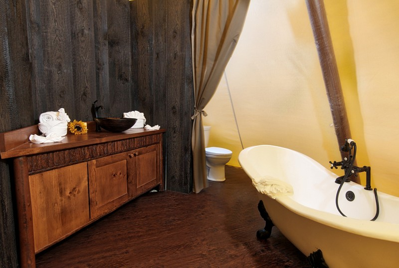 Luxe Teepees at Westgate River Ranch Resort & Rodeo in River Ranch-2016-bathroom