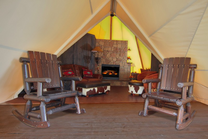 Luxe Teepees at Westgate River Ranch Resort & Rodeo in River Ranch-2016-furniture