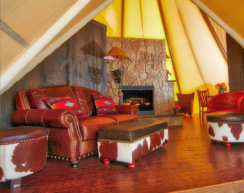 Luxe Teepees at Westgate River Ranch Resort & Rodeo in River Ranch