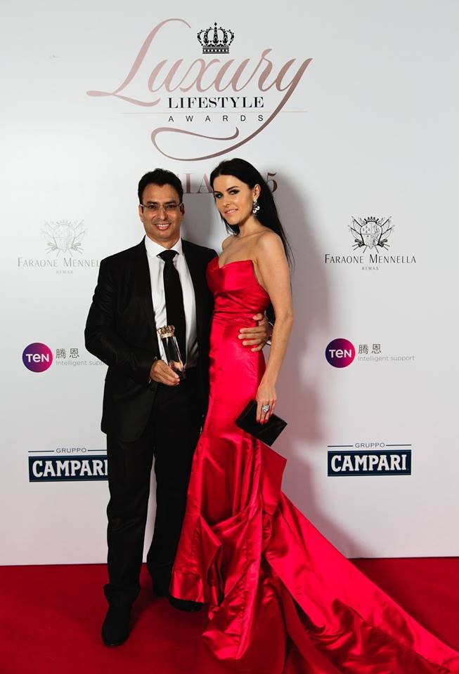 Luxury Lifestyle Awards Asia 2015 - The Best Luxury Brands of Asia - the wall