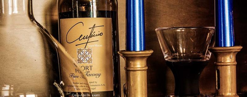 Luxury Lifestyle AwardsAsia2015-  AntonioRestaurant -WineMenu-
