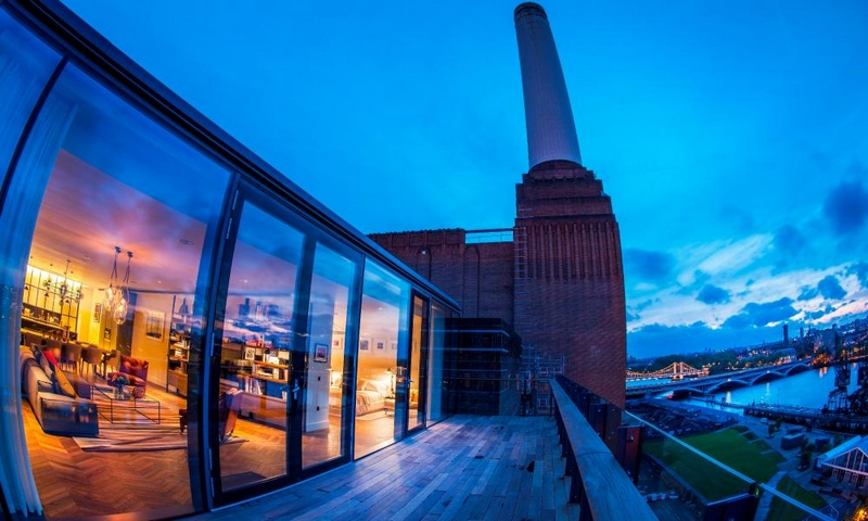 Luxury Property Market Londn - Power House - the show apartment at Battersea Power Station London