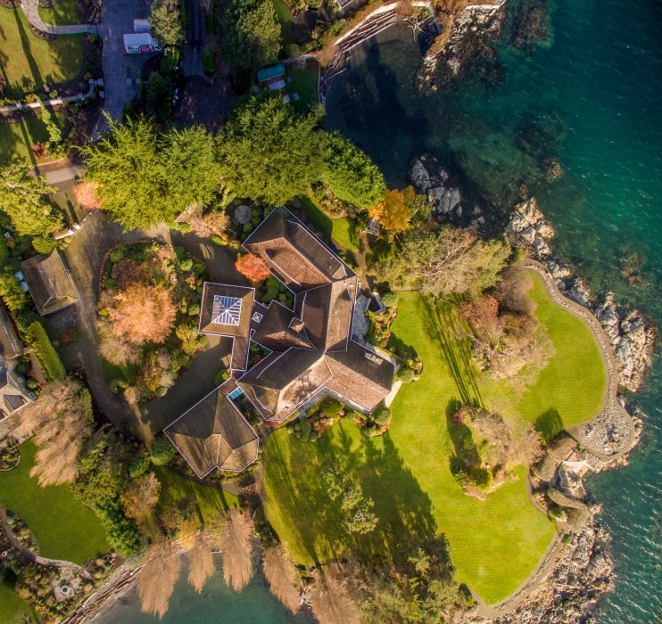 Luxury Victoria Property - 2016 - aerial views