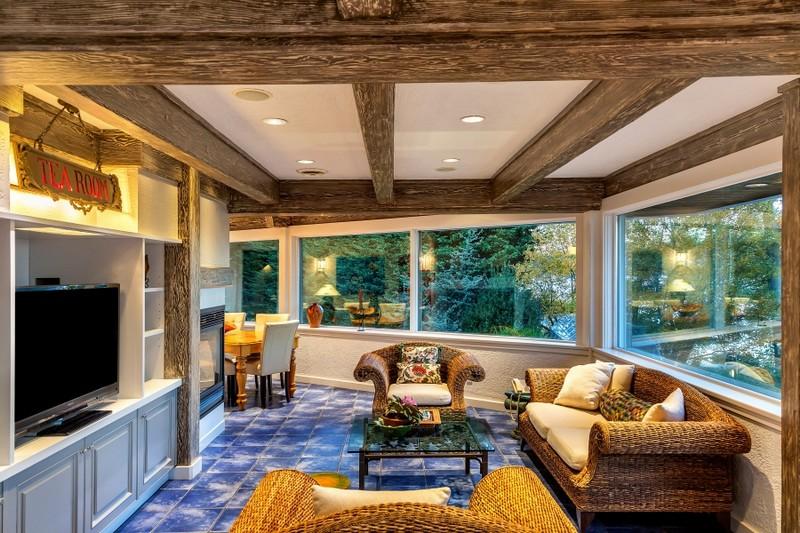 Luxury Victoria Property - 2016 - tea room