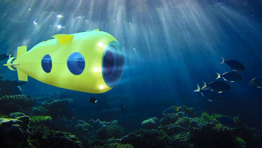 Luxury Yellow Submarine by GSE Trieste, the VAS 525 60-
