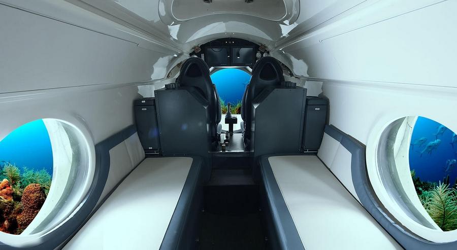 Luxury Yellow Submarine by GSE Trieste, the VAS 525 60-interior 2015-