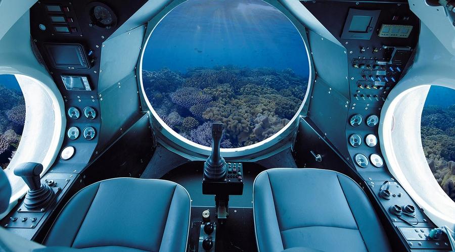 Luxury Yellow Submarine by GSE Trieste, the VAS 525 60-interior 2015