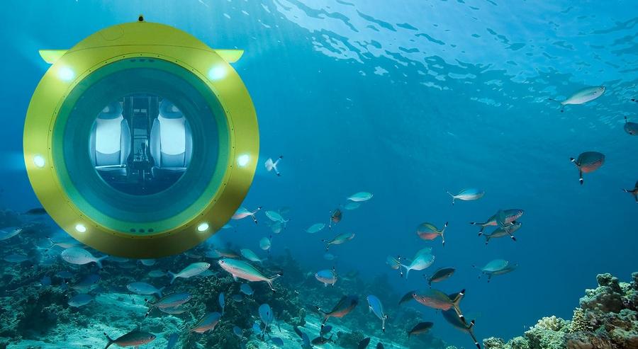 Luxury Yellow Submarine by GSE Trieste, the VAS 525 60