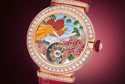 Lvcea Tourbillon Il Giardino Paradiso is merging natural twin territories of jewellery and watchmaking
