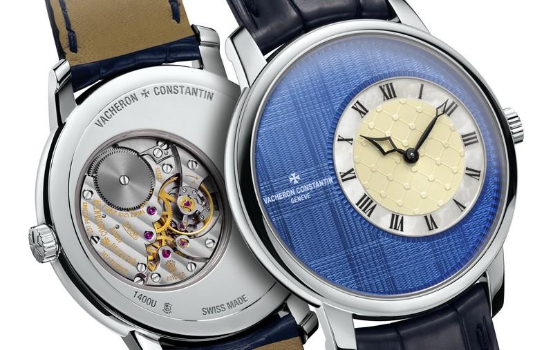 Vacheron Constantin Elégance Sartoriale Tartan watch