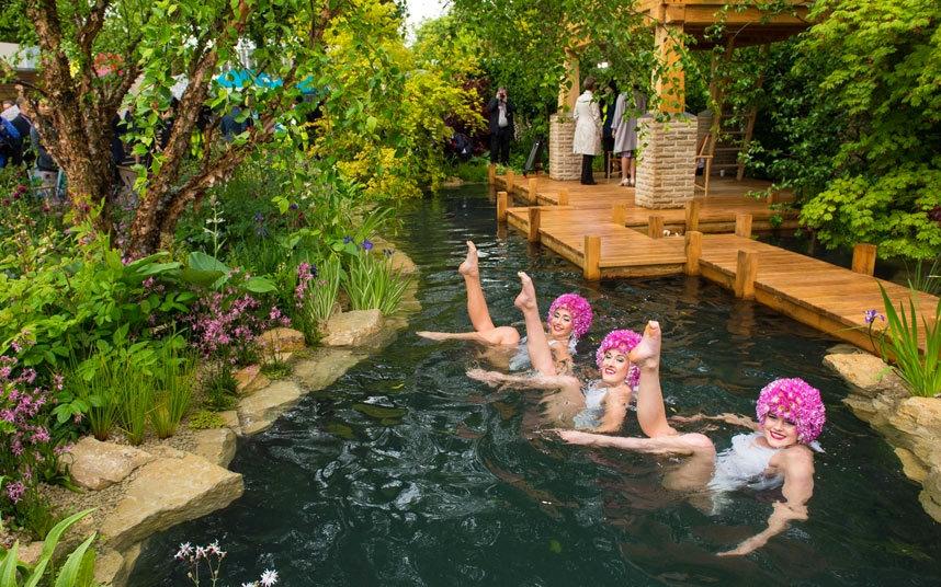 M&G Retreat garden
