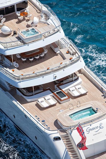 MOTOR YACHT OF THE YEAR - GRACE E 2015 yacht