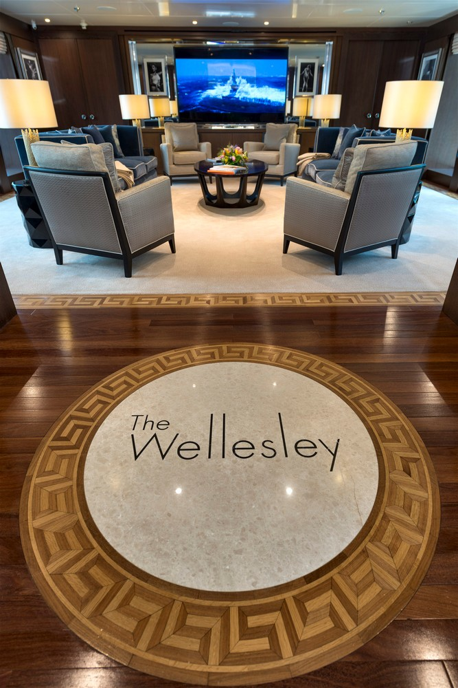 MY The Wellesley - 56m super yacht by The Wellesley Hotel London --
