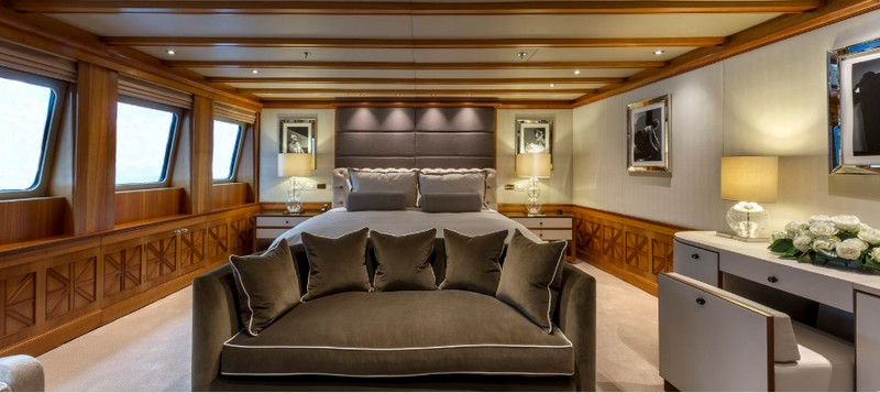 MY The Wellesley - 56m super yacht by The Wellesley Hotel London - cabins