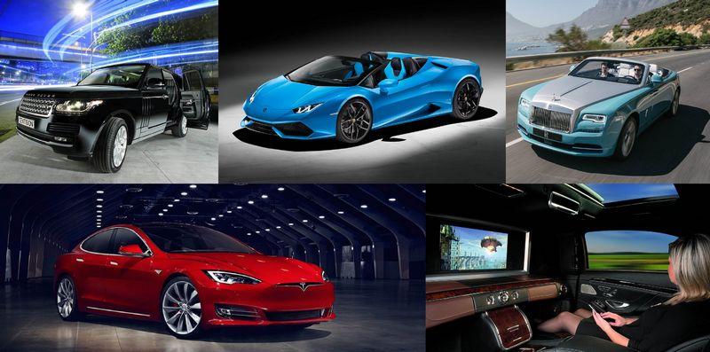 MYS Car Deck - Luxury car exhibition at the Monaco Yacht Show