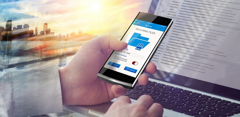 Macate Gatca Elite luxury cyberphone-securing files