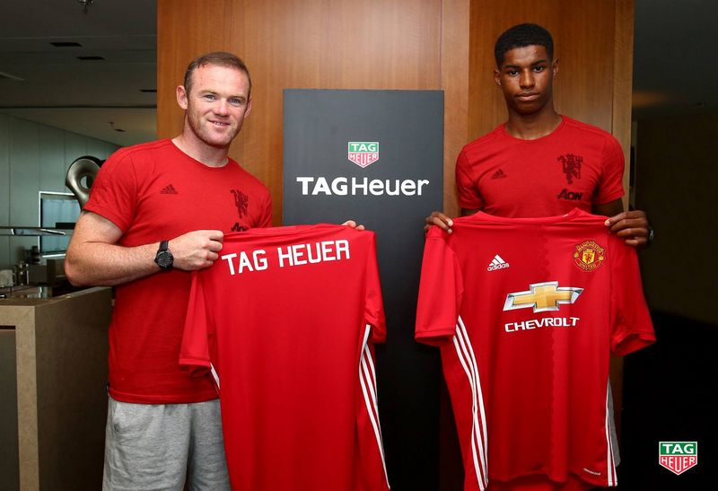 Manchester United - The world's most popular football club partners with Tag Heuer-