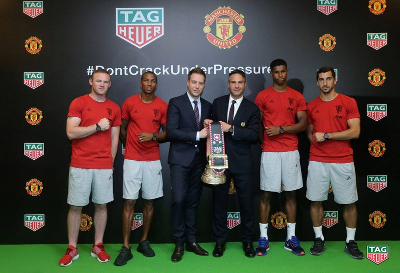 Manchester United - The world's most popular football club partners with Tag Heuer