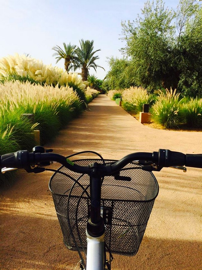 Mandarin Oriental Marrakech -  A trail around the 20 hectares of the property offers the possibility to jog or cycle