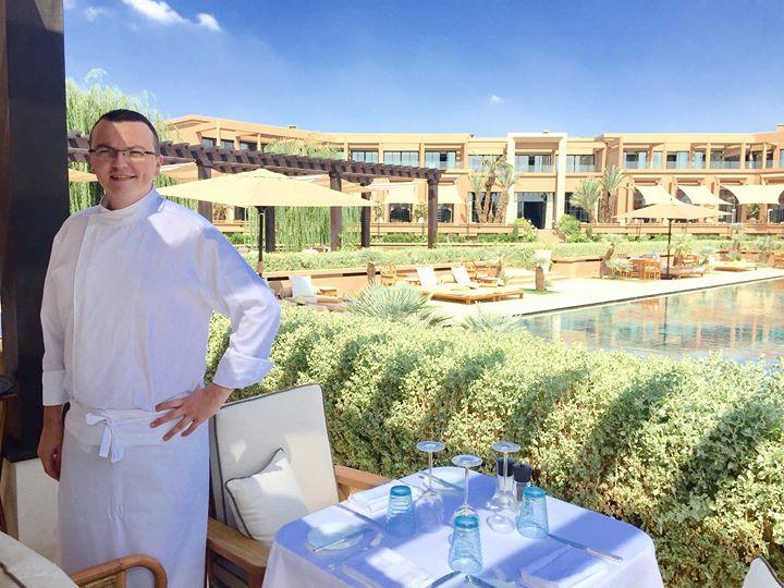 Mandarin Oriental Marrakech - Chef Nicolas Warot