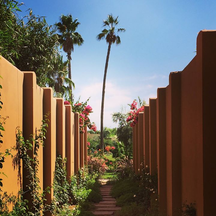 Mandarin Oriental Marrakech - the sun is rising slowly