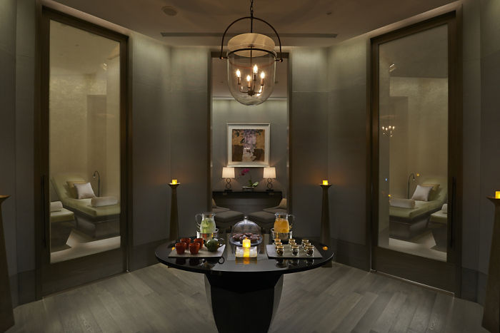 Mandarin Oriental Taipei-Spa Relaxation Lounge