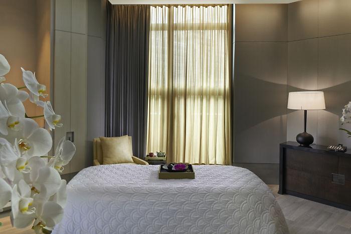 Mandarin Oriental Taipei-Spa treatment room