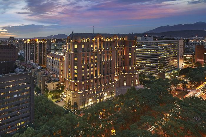 Mandarin Oriental Taipei-exterior-night