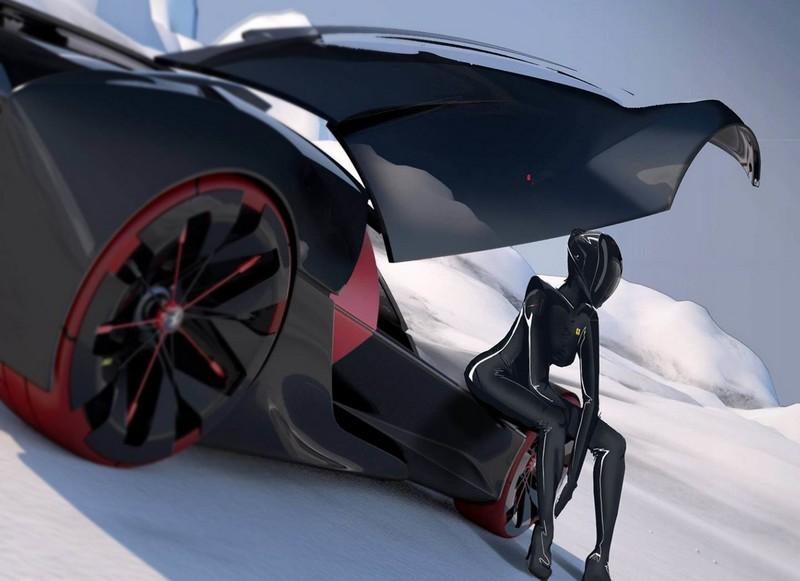 Manifesto -  the Winner of 2016 Ferrari Top Design School Challenge