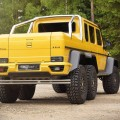 Mansory Extends Customisation Programme to Mercedes-Benz AMG 6x6 - 2015 model