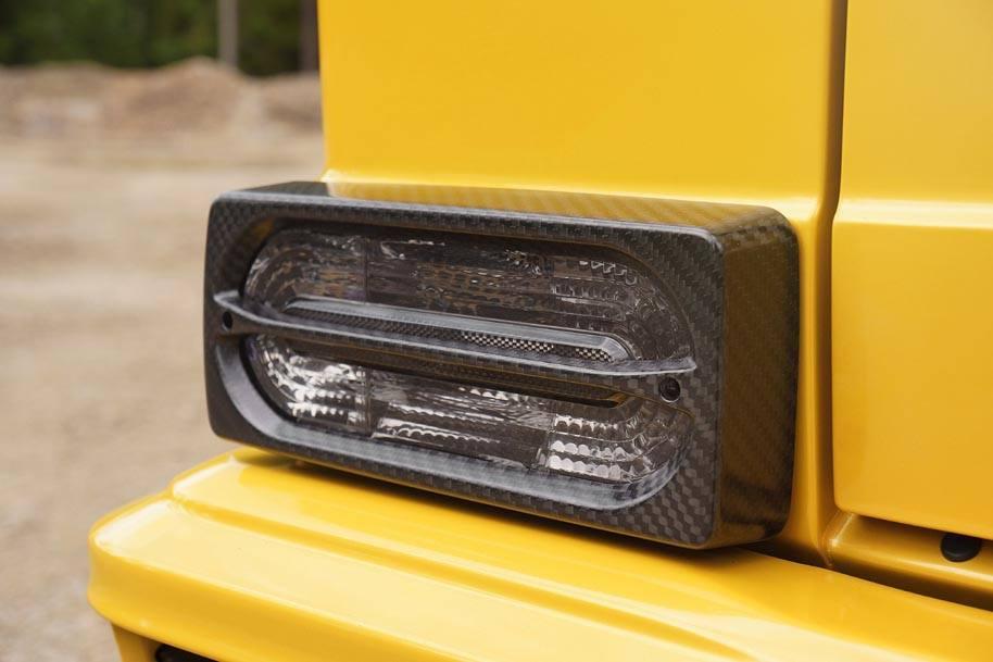 Mansory Extends Customisation Programme to Mercedes-Benz AMG 6x6-headlamps
