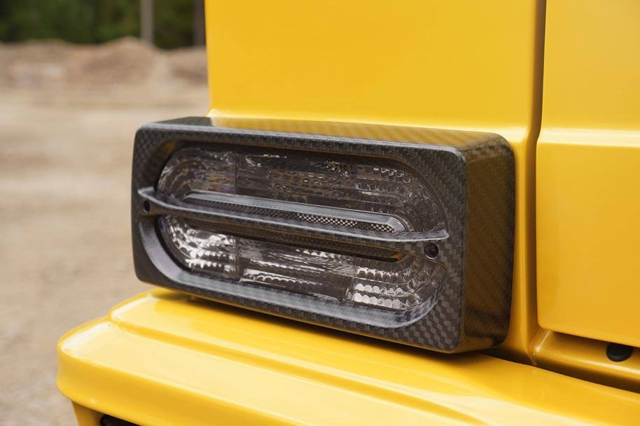 Mansory Extends Customisation Programme to Mercedes-Benz AMG 6x6-headlamps