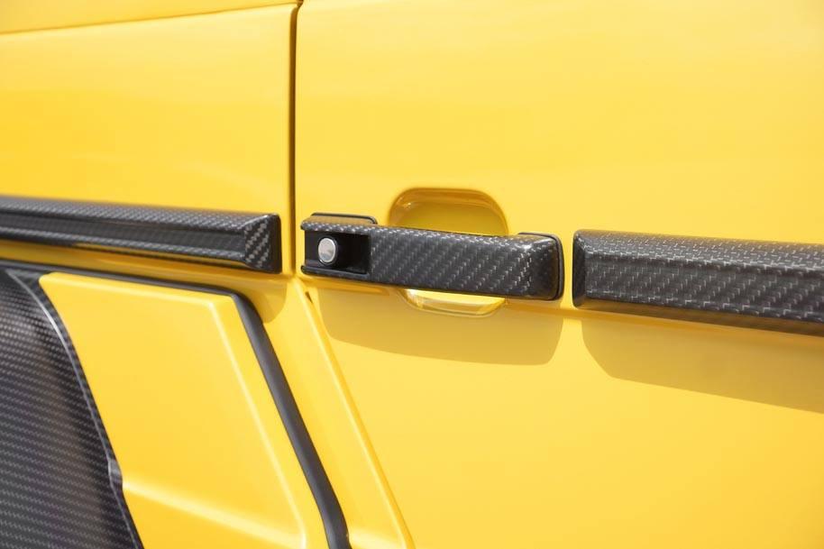 Mansory Extends Customisation Programme to Mercedes-Benz AMG 6x6- ultra-light carbon