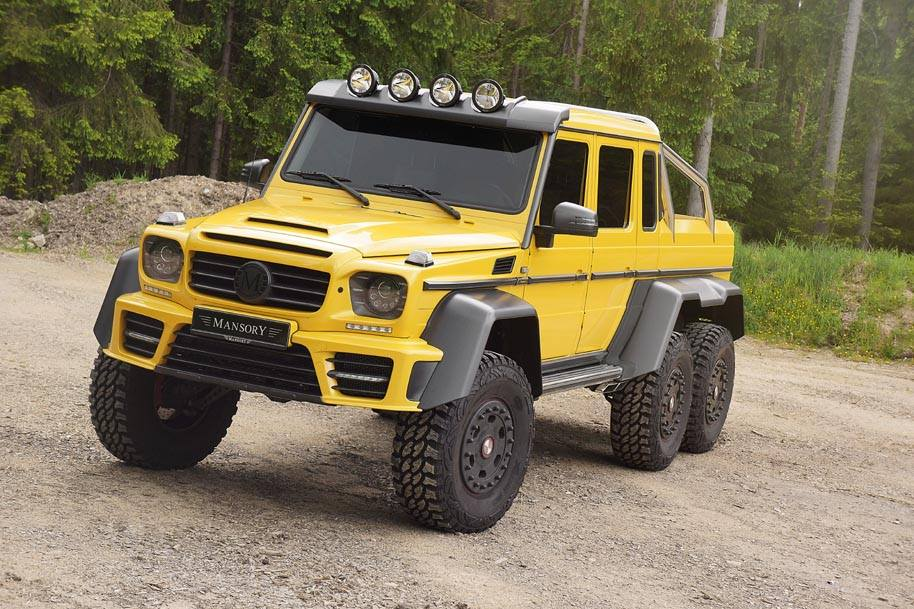 Mansory Extends Customisation Programme to Mercedes-Benz AMG 6x6