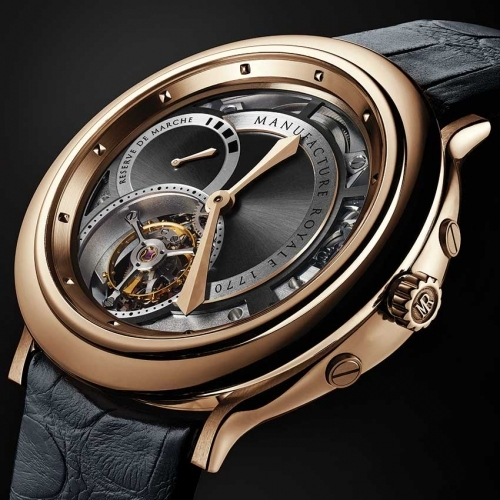 Manufacture Royale 1770 Rose gold watch - Baselworld 2015