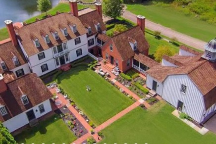So tastefully designed: Maplevale Manor – a rare, 14 acre, majestic Colonial Mansion