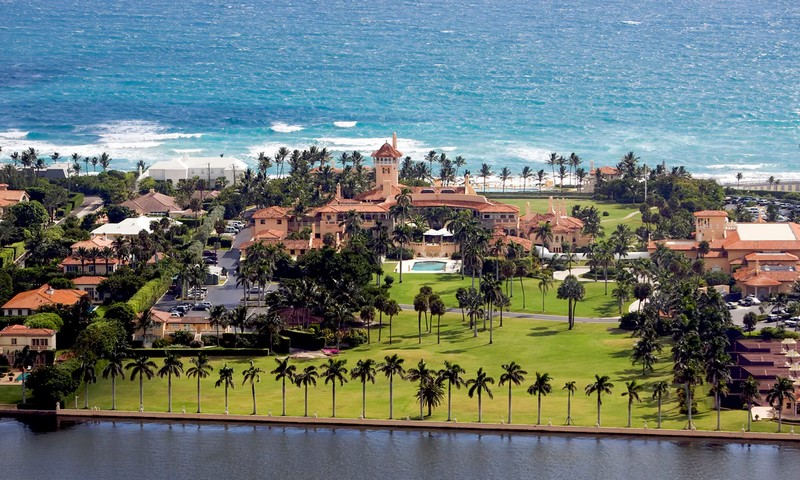Mar-a-lago resort and the climate change