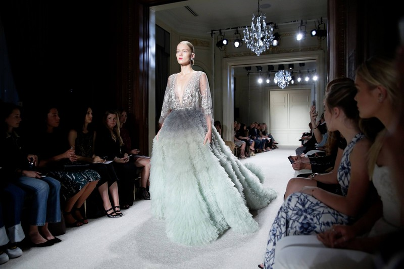 Marchesa NYFW St Regis New York 2015 catwalk