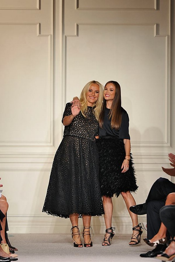 Marchesa NYFW St Regis New York 2015-designers duo Georgina Chapman and Keren Craig