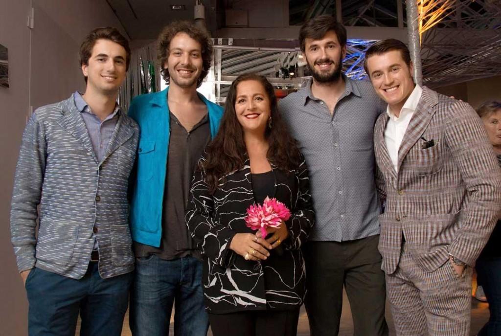 Marco Missoni, Francesco Maccapani Missoni, Angela, Ottavio, Giacomo Missoni