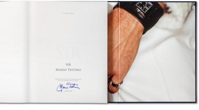 Mario Testino Sir Book - interior