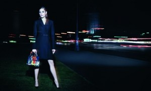 Marion Cotillard and the Lady Dior bag 2014
