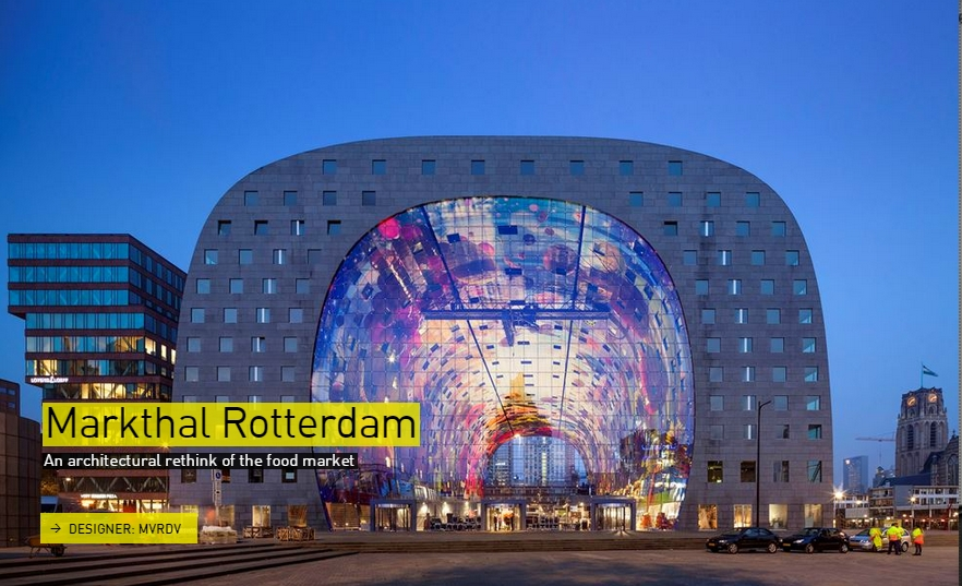 Markthal Rotterdam- The Designs of the Year 2015 nominees @ Design Museum London