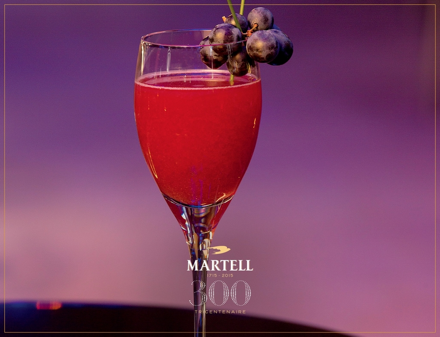 Martell Cognac 300th anniversary cocktail 2015