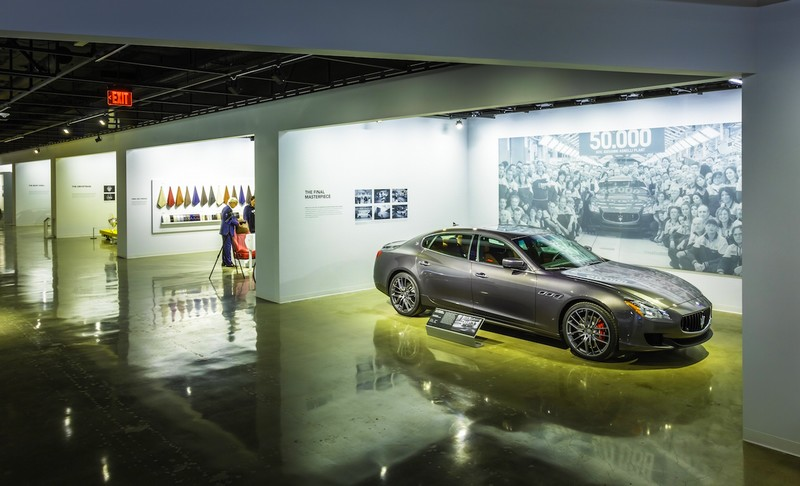 Maserati Made in Italy - Design to Line at the totally transformed Petersen Automotive Museum-2015 December