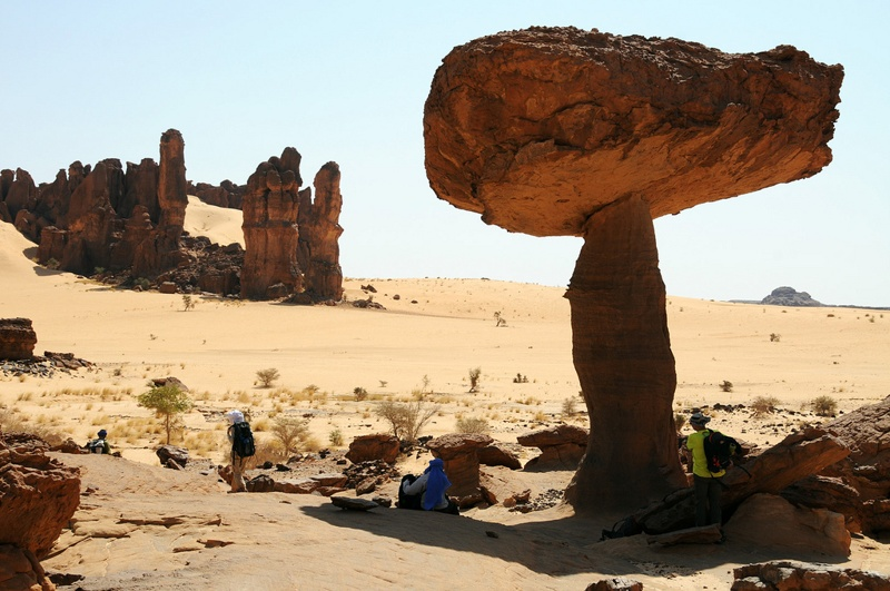 Massif of Ennedi Chad